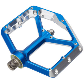 Spank Oozy Trail Pedals blue